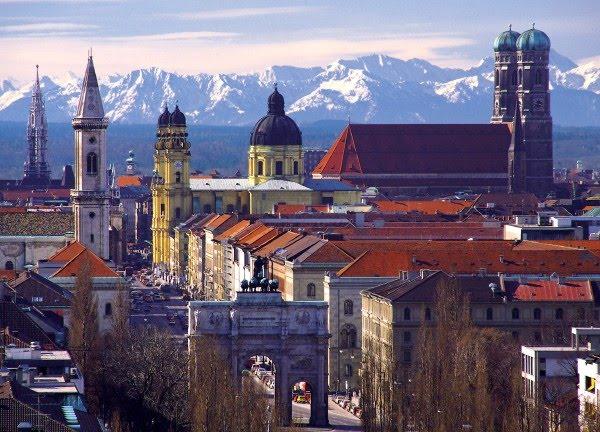 Мюнхен - столица Баварии