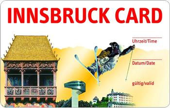 туристические карточки в Инсбруке