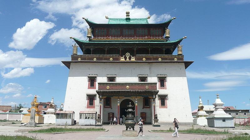 буддийский монастырь в Монголии