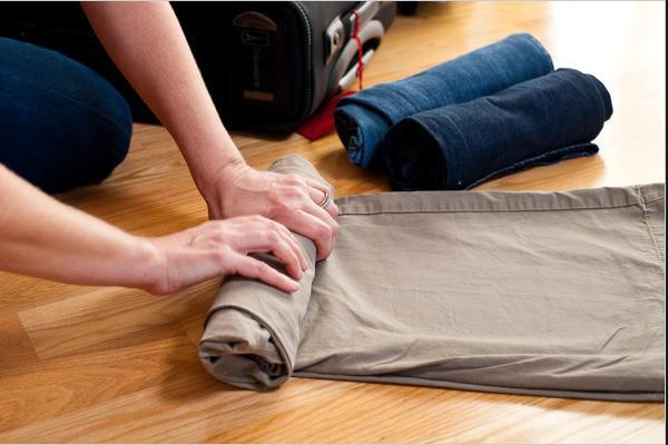 как правильно упаковать большое количество вещей в чемодан - практическое руководство с картинками