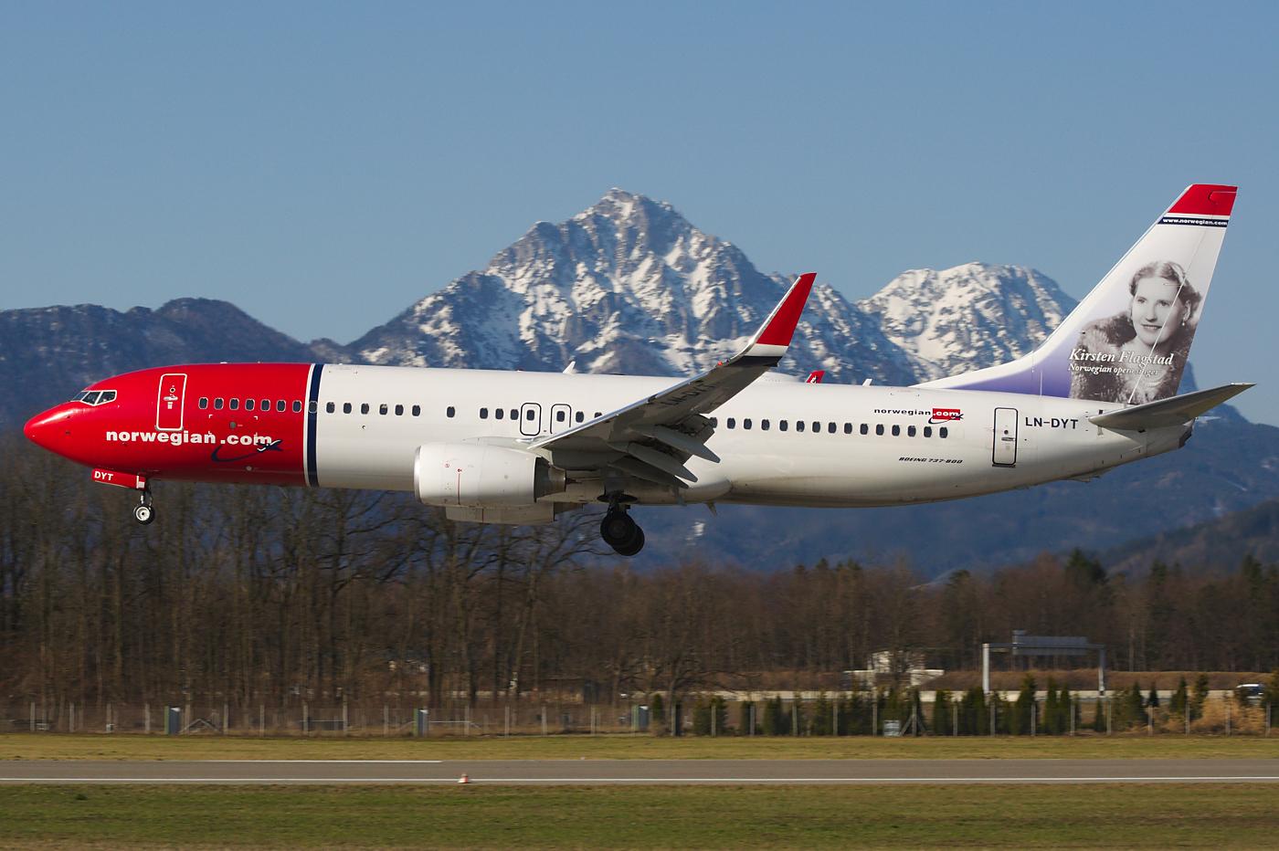самолет норвегиан эйр