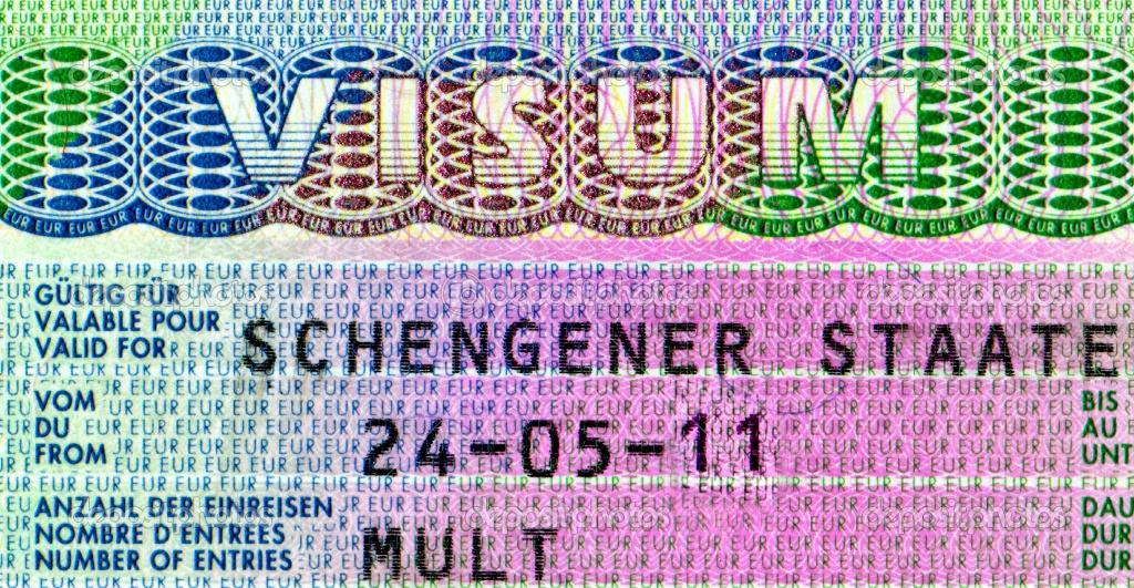 элемент шенгенской визы